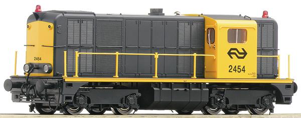 Roco 70790 - Dutch Diesel Locomotive 2454 of the NS (DCC Sound Decoder)