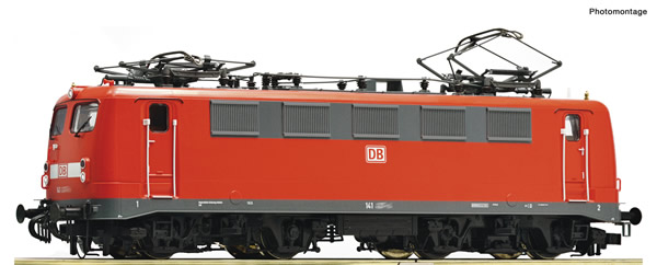 Roco 70795 - German Electric locomotive class 141 of the DB AG