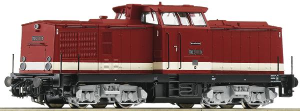 Roco 70809 - German Diesel Locomotive Class 110 of the DR