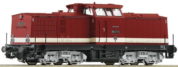Roco 70810 - German Diesel Locomotive Class 110 of the DR (DCC Sound Decoder)