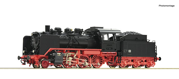 Roco 71212 - German Steam locomotive 37 1009-2 of the DR (DCC Sound Decoder)