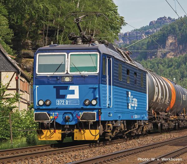 Roco 71225 - Czech Electric locomotive class 372 of the CD Cargo