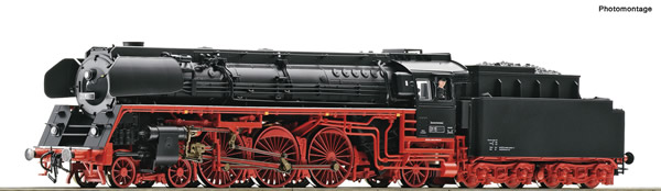 Roco 71265 - German Steam locomotive 01 1518-8 of the DR