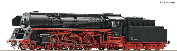 Roco 71266 - German Steam locomotive 01 1518-8 of the DR (DCC Sound Decoder)