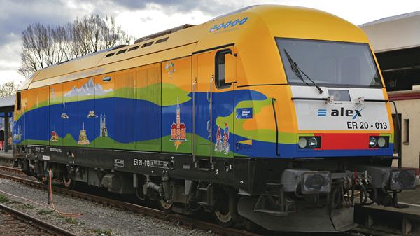 Roco 71399 - German Diesel Locomotive Class 223