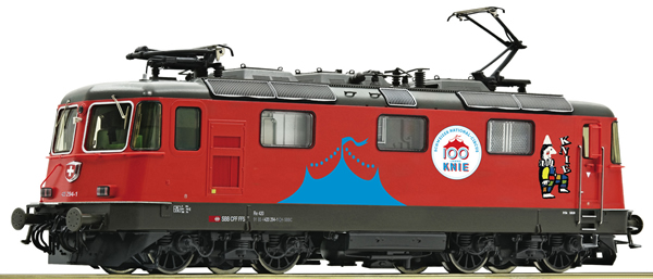 Roco 71402 - Swiss Electric Locomotive 420 294-1 Circus Knie of the SBB (DCC Sound Decoder)