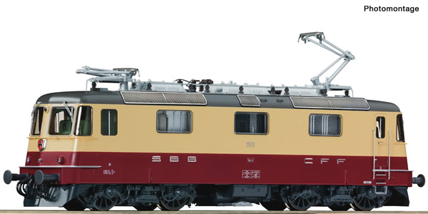 Roco 71406 - Swiss Electric locomotive Re 4/4II 11251 of the SBB (DCC Sound Decoder)