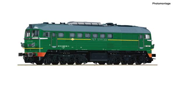 Roco 71753 - Polish Diesel locomotive ST44-360 of the PKP (DCC Sound Decoder)