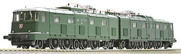 Roco 71814 - Swiss Electric Locomotive Ae 8/14 11851 of the SBB (DCC Sound Decoder)