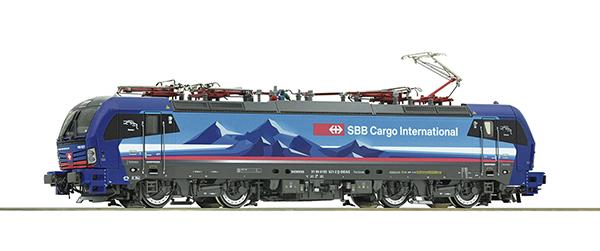 Roco 71917 - Swiss Electric Locomotive 193 521-2 of the SBB Cargo  (DCC Sound Decoder)