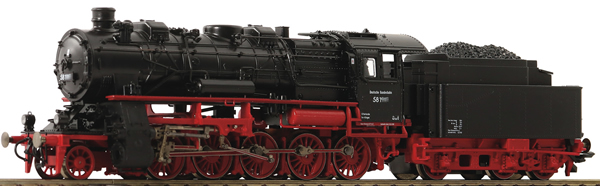 Roco 71922 - German Steam Locomotive Class 58 of the DB
