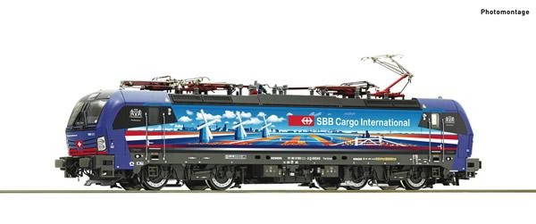 Roco 71949 - Swiss Electric locomotive 193 525-3 of the SBB Cargo (DCC Sound Decoder)