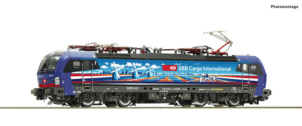 Roco 71949 - Swiss Electric locomotive 193 525-3 of the SBB Cargo (DCC Sound Decoder)