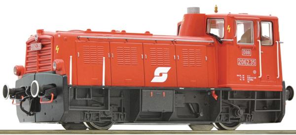 Roco 72001 - Austrian Diesel Locomotive Series 2062 of the ÖBB (DCC Sound Decoder)