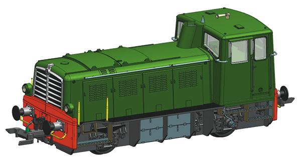 Roco 72002 - Italian Diesel Locomotive Class D.225 of the FS (DCC Sound Decoder)