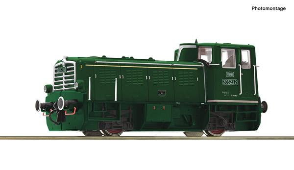 Roco 72004 - Austrian Diesel locomotive class 2062 of the OBB (DCC Sound Decoder)