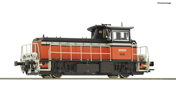 Roco 72011 - French Diesel locomotive class Y 8400 of the SNCF (DCC Sound Decoder)