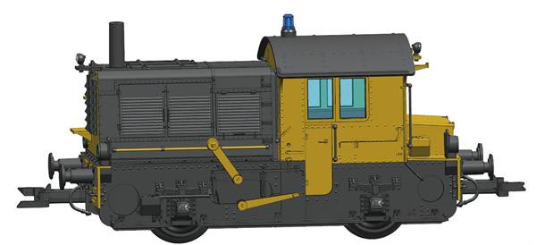 Roco 72012 - Dutch Diesel locomotive Sik of the NS (DCC Sound Decoder)