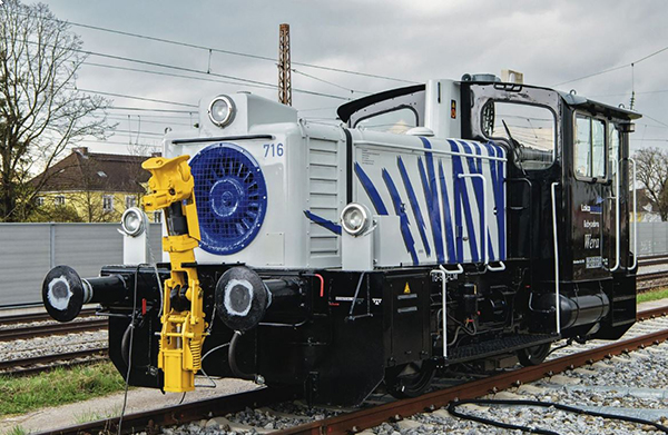 Roco 72018 - German Diesel locomotive 333 716 Lokomotion (DCC Sound Decoder)