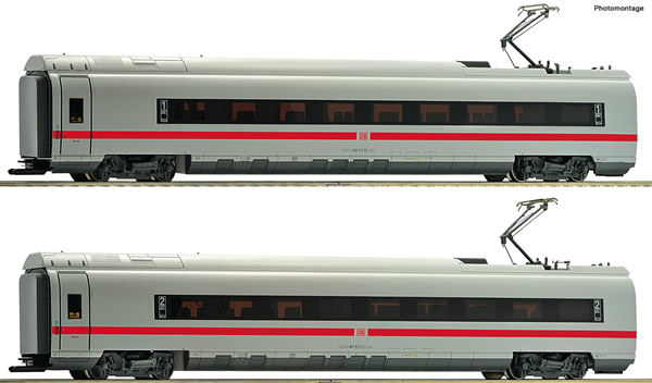 Roco 72043 - German ICE 3 Add-On Set #1 of the DB AG