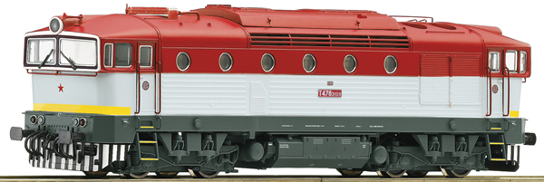 Roco 72053 - Slovakian Diesel Locomotive T478.3109 of the ZSSK  (DCC Sound Decoder)