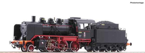 Roco 72061 - Polish Steam locomotive Oi2 of the PKP (DCC Sound Decoder)