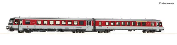 Roco 72071 - German Diesel railcar 628 509-1 of the DB AG (DCC Sound Deocder)