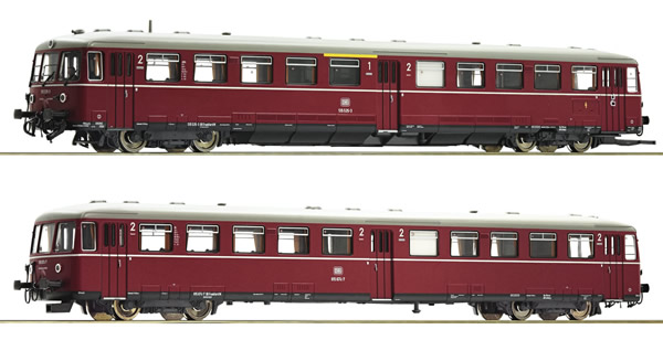 Roco 72080 - German Accumulator railcar class BR 515 w. cab car of the DB