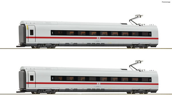 Roco 72097 - German 2 piece set: Intermediate coaches class 407 of the DB AG