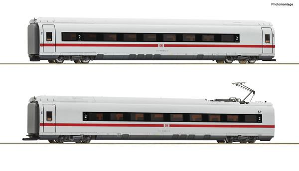 Roco 72098 - German 2 piece set: Intermediate coaches class 407 of the DB AG