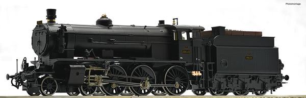 Roco 72109 - Austrian Steam locomotive 209.43 of the BBO (DCC Sound Decoder)