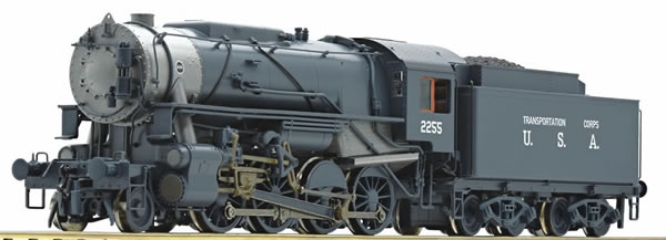 Roco 72151 - USA Steam Locomotive S 160 of the USATC (DCC Sound Decoder)