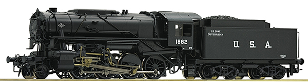Roco 72152 - Steam locomotive S 160, USATC US Zone Austria