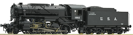 Roco 72153 - Steam locomotive S 160, USATC US Zone Austria (DCC Sound Decoder)