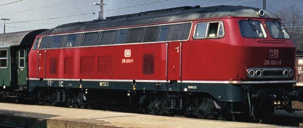 Roco 72181 - German Diesel Locomotive Class 215 of the DB