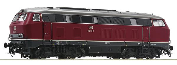 Roco 72182 - German Diesel Locomotive Class 215 of the DB (DCC Sound Decoder)