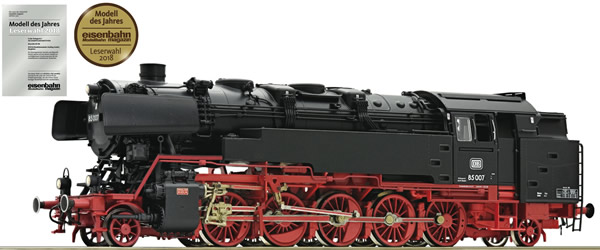 Roco 72270 - German Steam Locomotive BR 85 007 of the DB