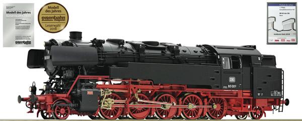 Roco 72273 - German Steam locomotive 85 009 of the DB (DCC Sound Decoder)