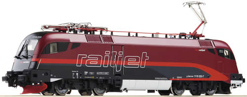 Roco 72457 - Electric locomotive Rh 1116, Railjet, snd