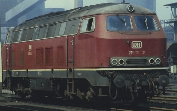 Roco 72757 - German Diesel Locomotive BR 215 of the DB
