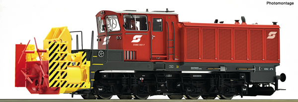 Roco 72798 - Austrian Beilhack Rotary Snow Blower of the ÖBB (DCC Sound Decoder)