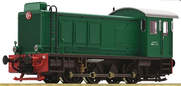Roco 72813 - French Diesel Locomotive Class 030-DB of the SNCF (DCC Sound Decoder)