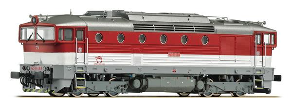 Roco 72966 - Slovakian Diesel Locomotive 750 of the ZSSK