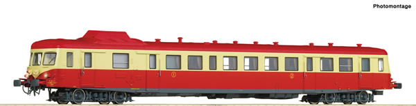 Roco 73009 - French Diesel railcar X2802 of the SNCF (DCC Sound Decoder)