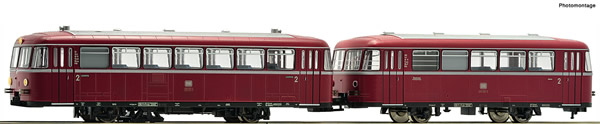Roco 73011 - German Diesel railcar class 795 of the DB (DCC Sound Decoder)