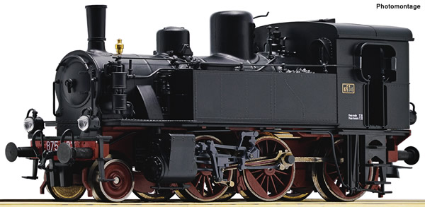Roco 73017 - Italian Steam locomotive 875 045 of the FS