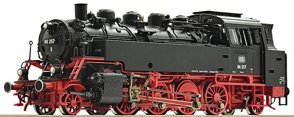 Roco 73023 - German Steam locomotive class 86 of the DB (DCC Sound Decoder)