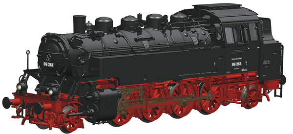 Roco 73026 - German Steam Locomotive 86 261 of the DRG