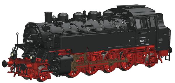 Roco 73027 - German Steam Locomotive 86 261 of the DRG (DCC Sound Decoder)