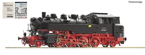 Roco 73033 - German Steam locomotive 86 1361-4 of the DR (DCC Sound Decoder)